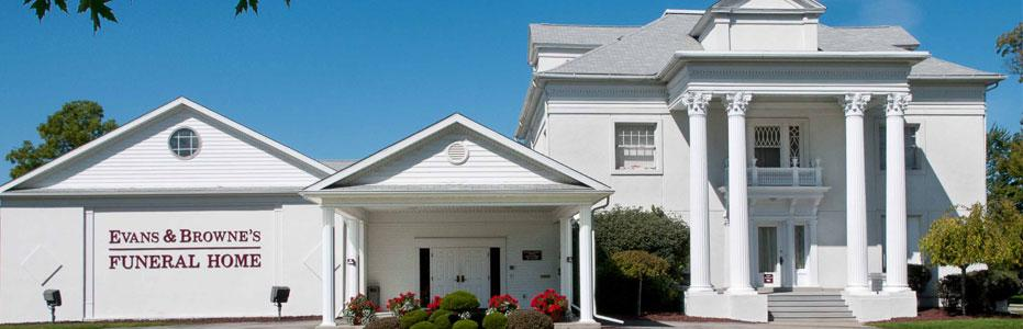 About Us   Evans & Browne's Funeral Home
