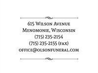 Olson Funeral Home & Cremation Services
