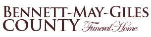 Bennett - May - Giles County Funeral Home