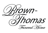 Brown - Thomas Funeral Home