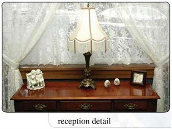 Reception Detail