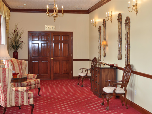 Front Hallway to Chapel