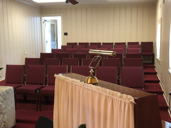 Banks Funeral Home Chapel Overflow Seating