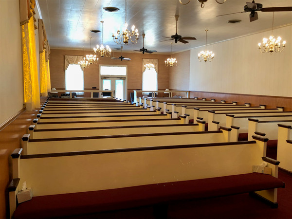 Banks Funeral Home Chapel