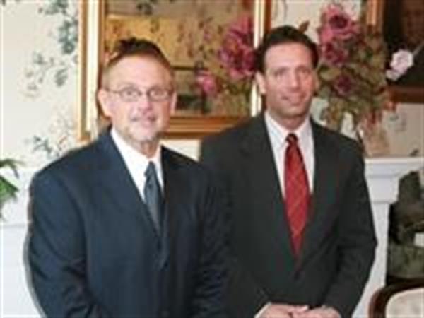 Joe Mantione (right) Greg Wood (left)