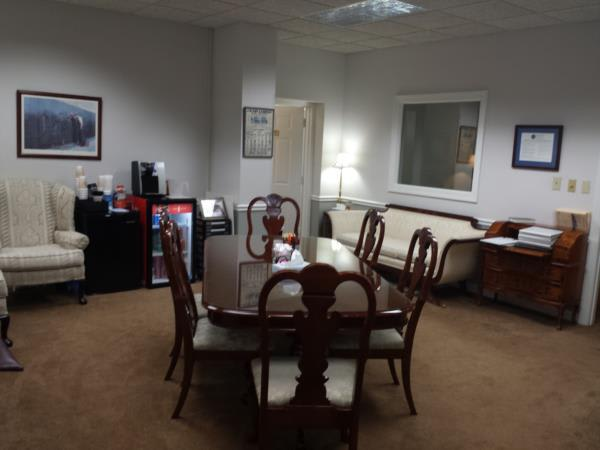 "Another view of Horne's spacious ""Home Like"" arrangements office."