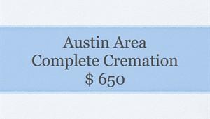Basic Cremation Service- Austin Area