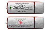 Emergency Alert Card