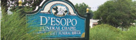 Contact Us | D'Esopo Funeral Chapel