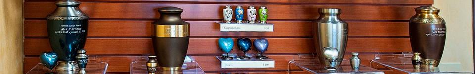 Urn Selections | Tradition Cemetery 562 S. 'I' Street San Bernardino, CA 92410
