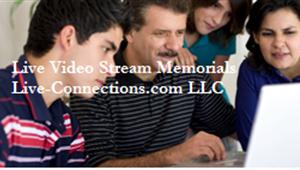 Live Video Stream Memorials