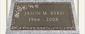 Single Bronze Memorials