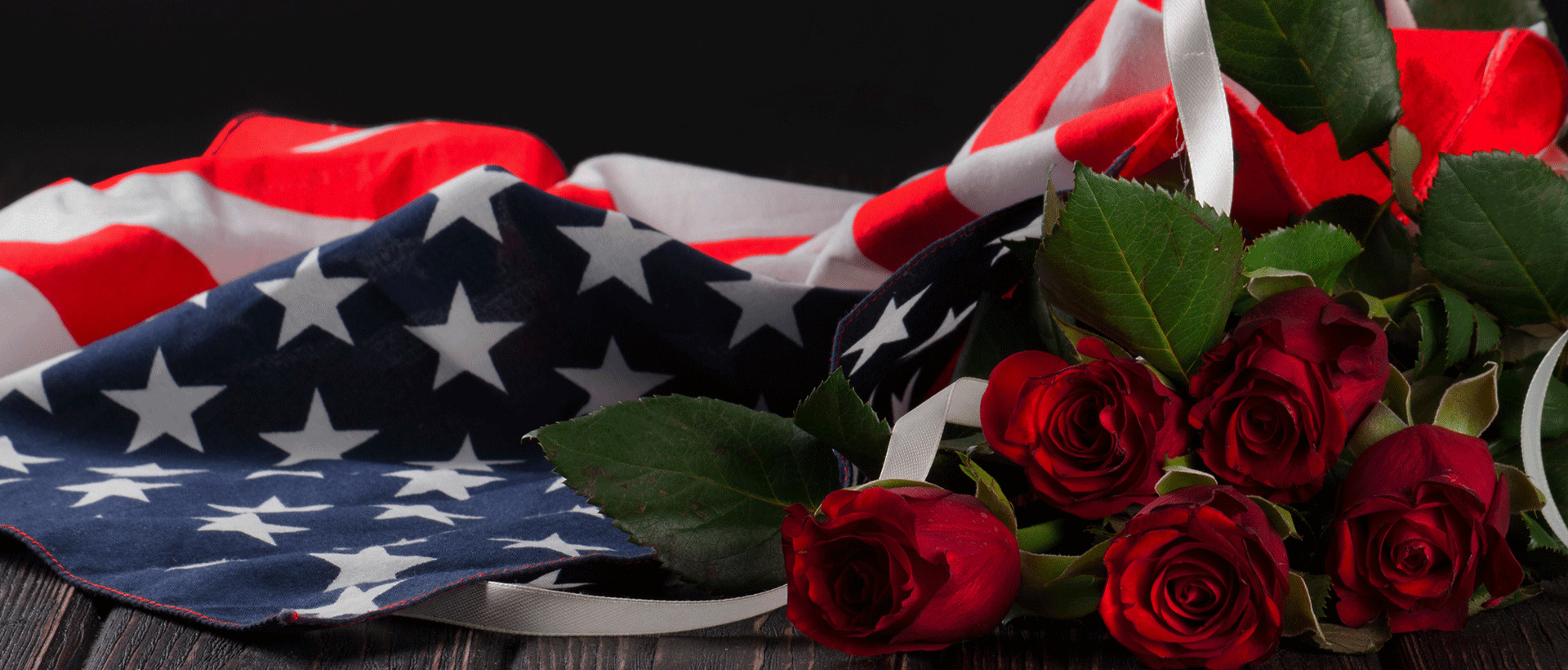 saluting veterans - Rose Garden Funeral Home