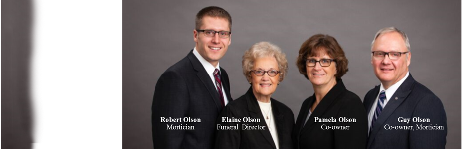 Contact Us | Olson Funeral Home