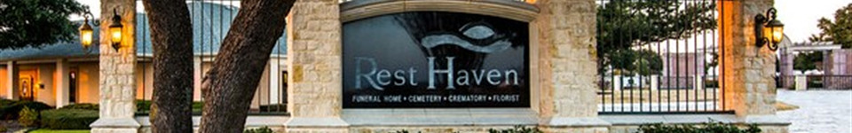 Cemetery   Rest Haven Funeral Home
