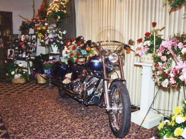 A Harley Visitation - Pray Funeral Home