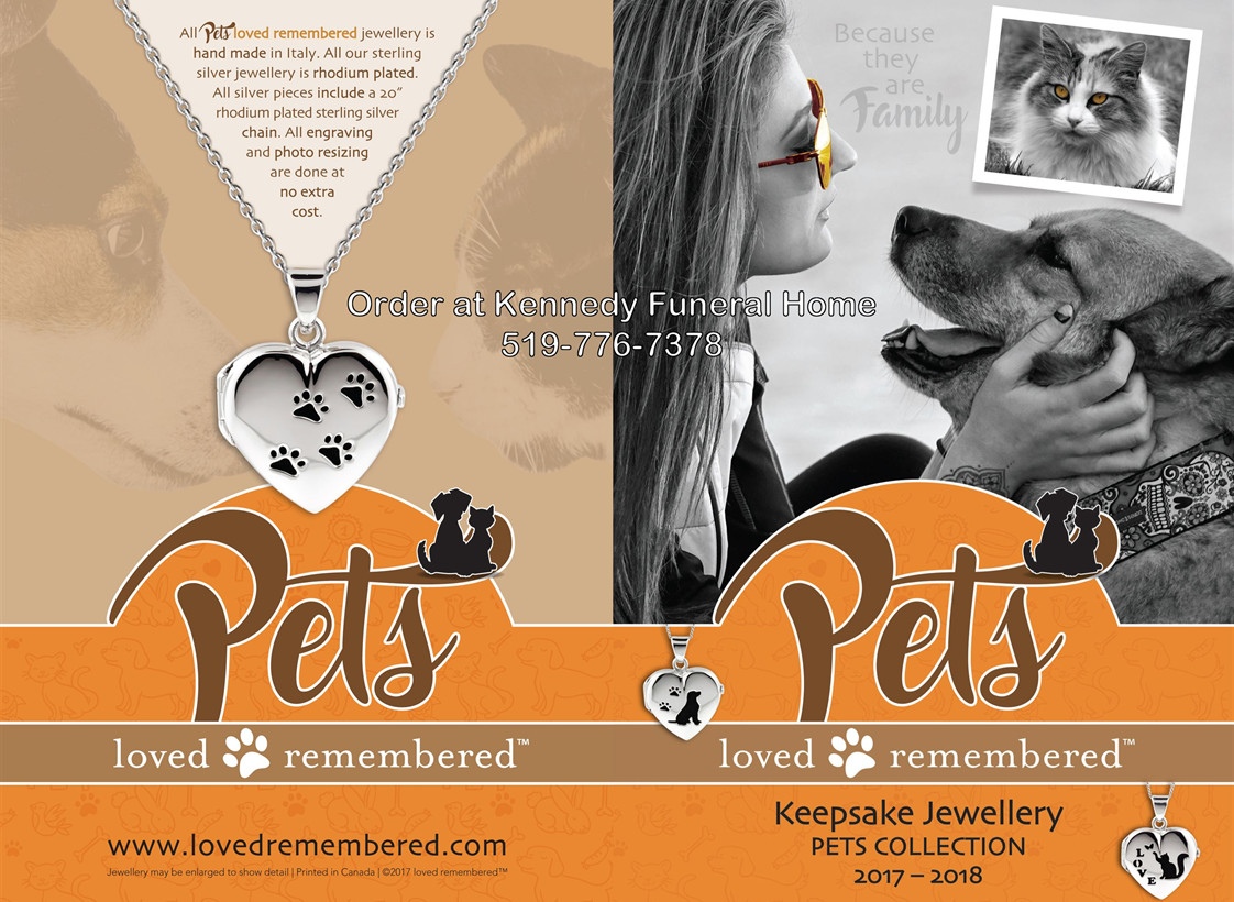 Pet keepsakes urns cremation Essex Kingsville Ontario