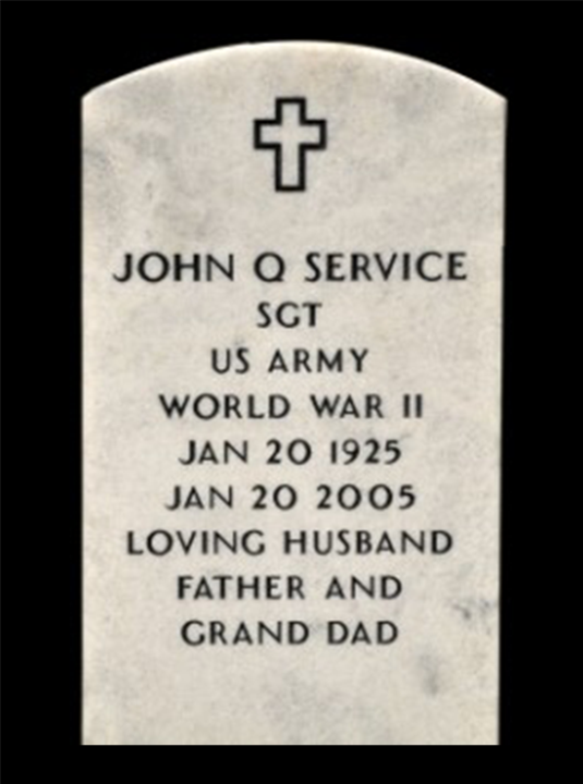 Veteran Grave Markers and Medallions