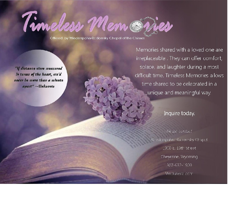 Timeless Memories Service