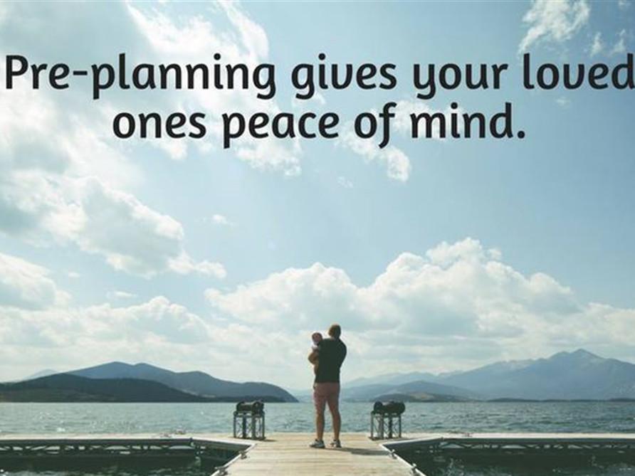 Why Should I Plan Ahead