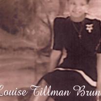 Louise Tillman Brunson