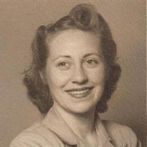 Mrs. Dorothy May Stubing-Foerster
