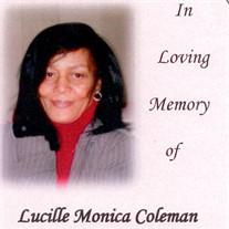 Lucille Monica  Coleman