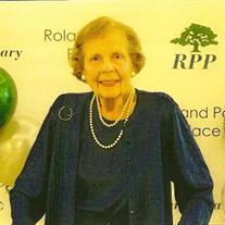 Mrs. Ann Cleveland Robertson