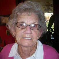 """Verna Margaret """"Lanier"""" Hughes"""