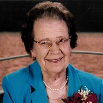 Gladys M. Wood