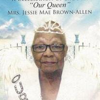 Mrs. Jessie Mae B. Allen
