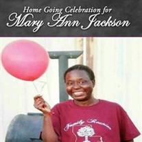Ms. Mary Ann Jackson