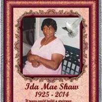 Mrs. Ida Mae Shaw