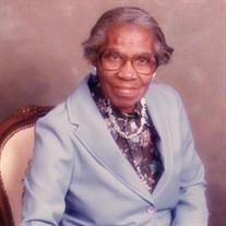 Mrs Ernestine Saliens