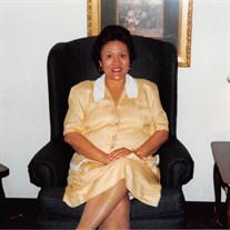 Mrs. Evangeline Vences Cantero