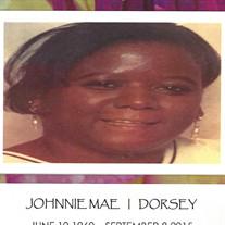 Johnnie Mae Dorsey