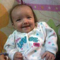Infant Anabella Ivey Adams