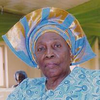 Mrs. Aurora Adebowaie Adunni  Owolabi