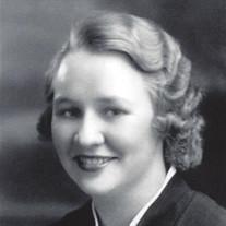 Mrs Margaret  Templeton Tolley