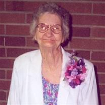 Mrs. Ollie Lee Nicholas