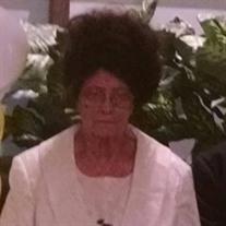 Mrs. Lorece Pendleton Armstrong