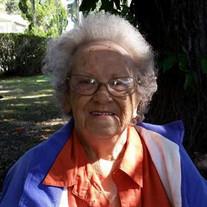 Mrs. Patricia Ann Combs