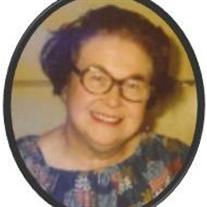 May Violet Pankewich (nee Shalen)