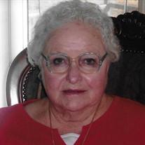 """Martha Ann """"Nanny"""" Pritchett Hobbs"""