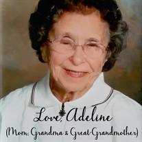 Adeline Lorraine Kvam