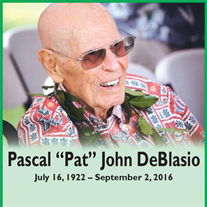 "Mr.  Pascal ""Pat"" John DeBlasio"