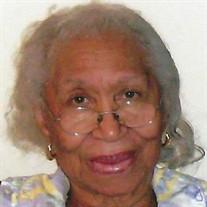Mrs. Willie Mae  Washington Holmes