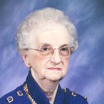Violet M Thomas
