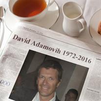 David Adamovih