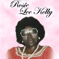 Mrs.  Rosie  Lee Kelly